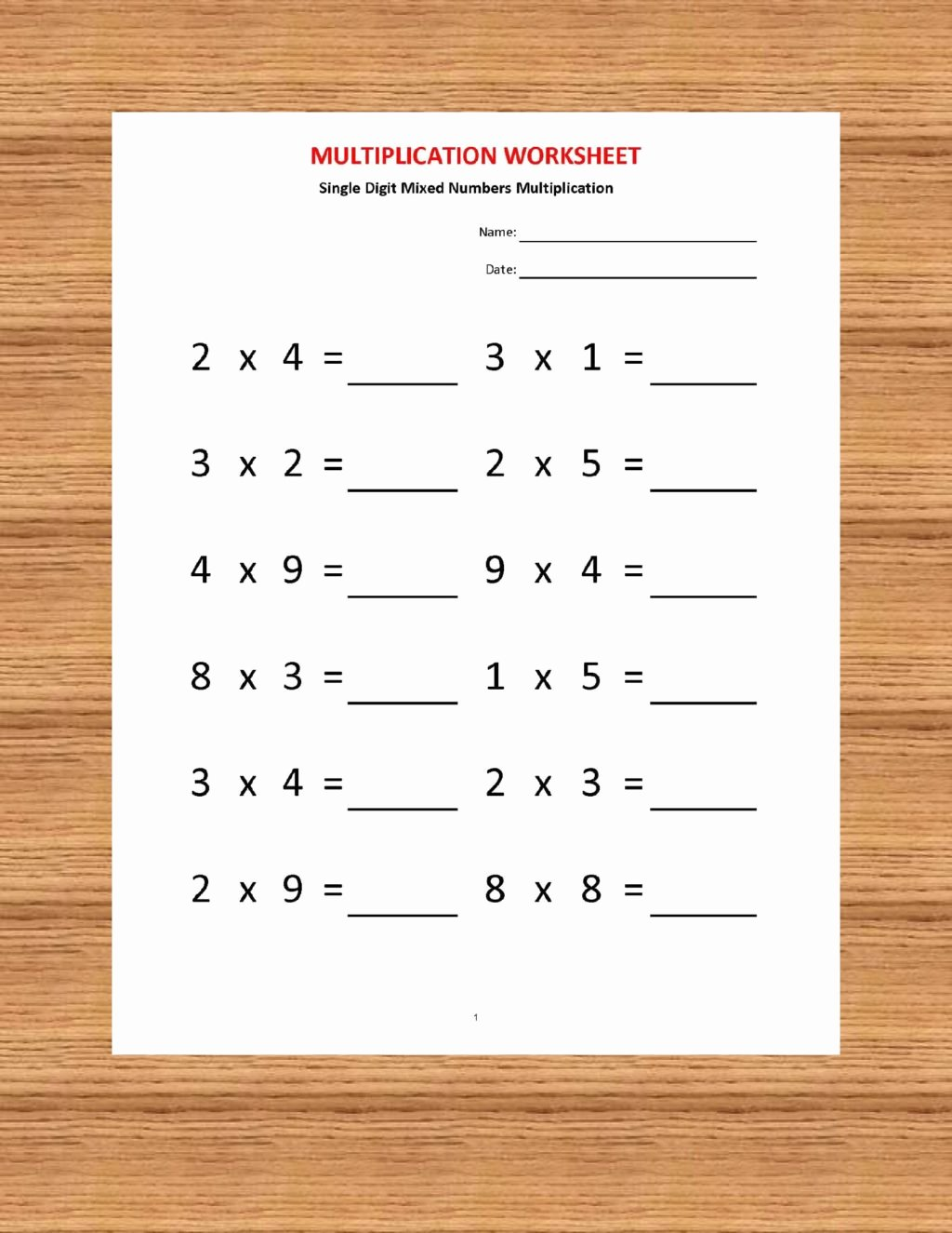 Multiplication Worksheets for Second Grade top Worksheet Multiplication Worksheets for Second Grade