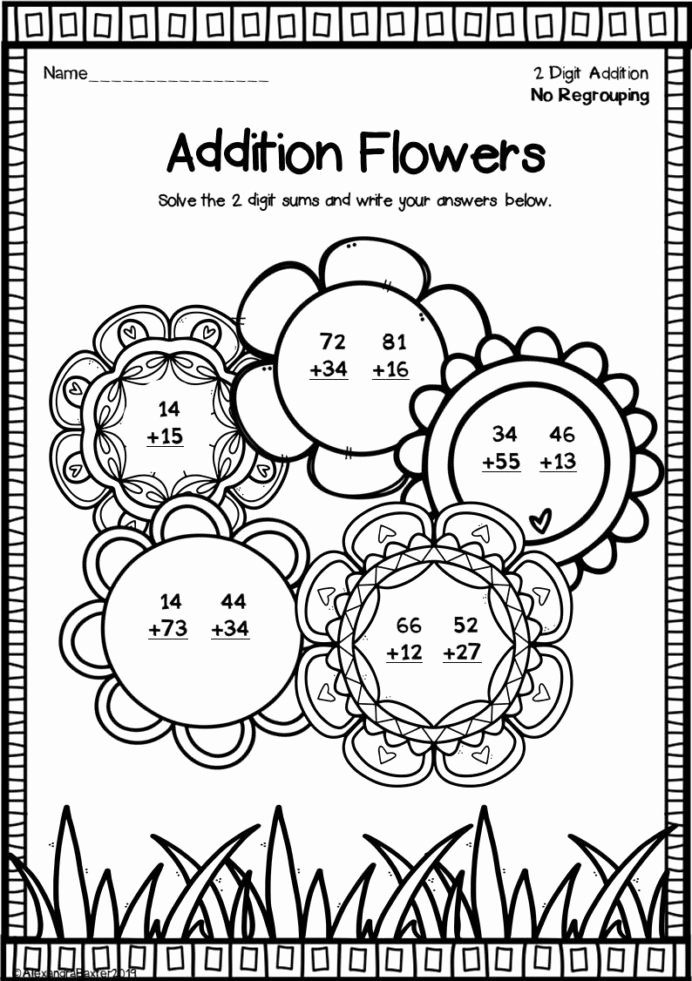 Multiplication Worksheets Fun top Fun Double Digit Addition Worksheets Worksheets