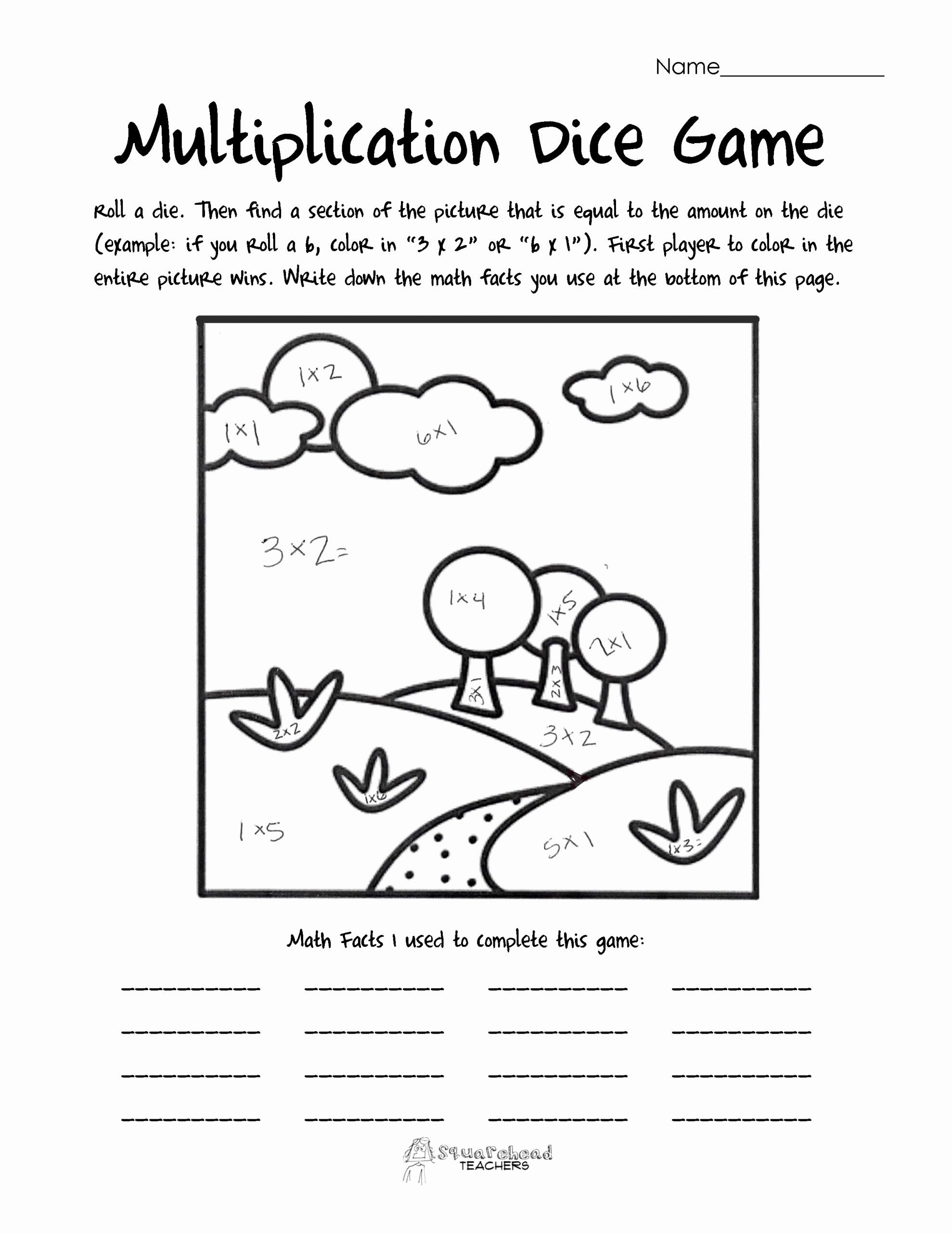 Multiplication Worksheets Games Awesome Multiplication Worksheets – Coloringcks