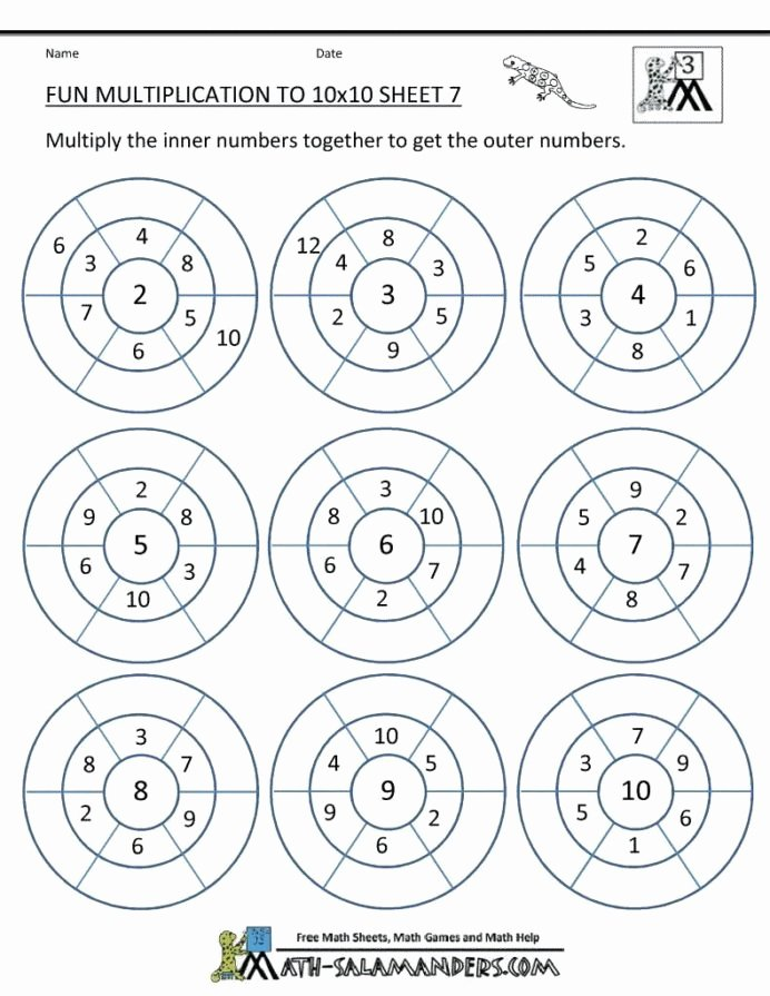 Multiplication Worksheets Games New Worksheet Multiplication Worksheets Grade Pdf Math Games