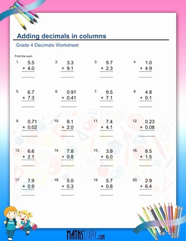 Multiplication Worksheets Grade 4 Awesome Coloring Pages Uncategorized Everyday Mathematics Grade