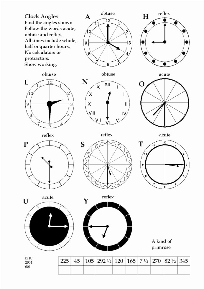 Multiplication Worksheets Grade 4 Lovely An Exercise In Deducing Angles 4th Grade 4 Multiplication