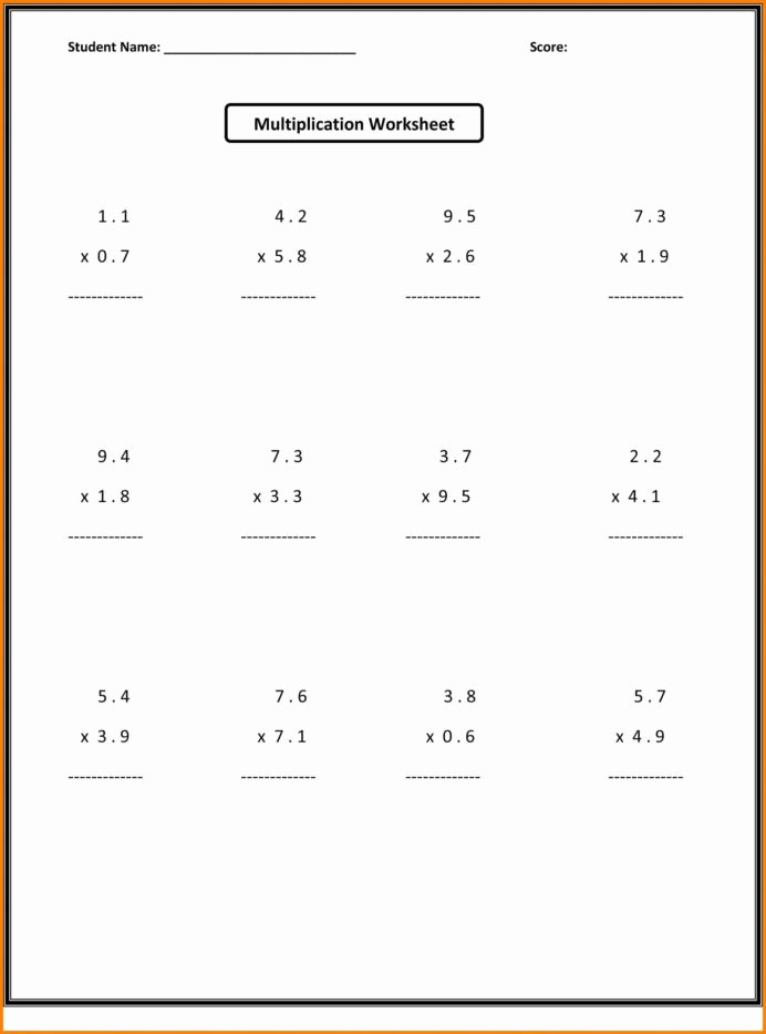 Multiplication Worksheets Grade 6 Lovely Worksheet Math Fractions Worksheets 6th Grade Schools Free