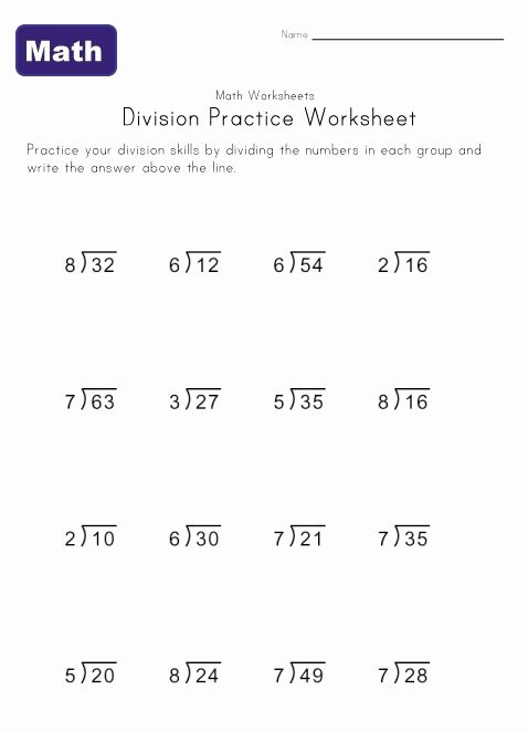 Multiplication Worksheets Grade 6 Unique Simple Division Worksheets