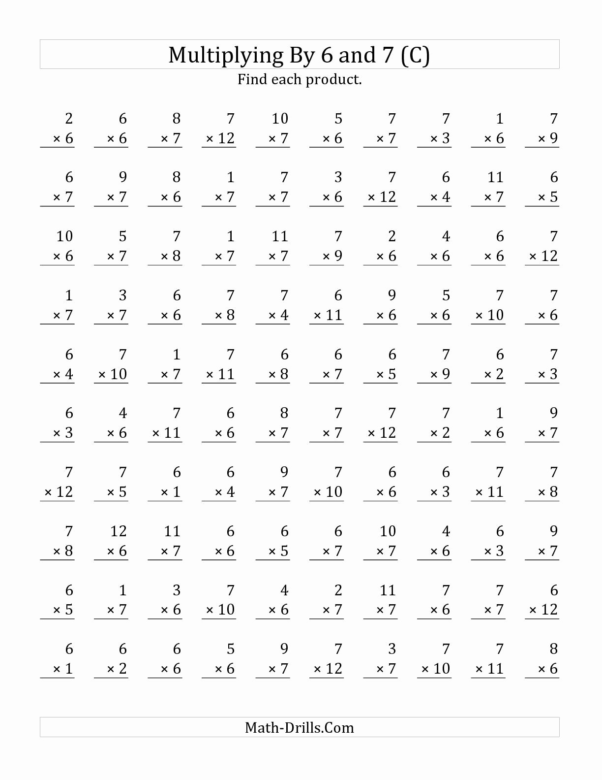 Multiplication Worksheets Grade 7 Inspirational Addition for Children 2nd Grade Addition Worksheets Multiply