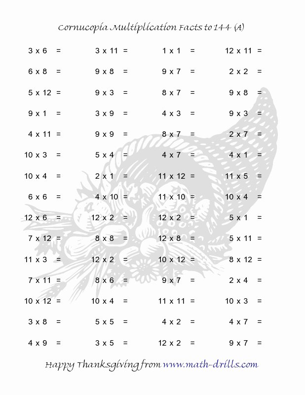 Multiplication Worksheets Middle School Best Of Thanksgiving Math Worksheets Middle School Mathematical