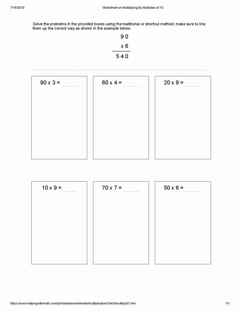 Multiplication Worksheets with Arrays Awesome Worksheet Multiplication Worksheets for Grade Second with