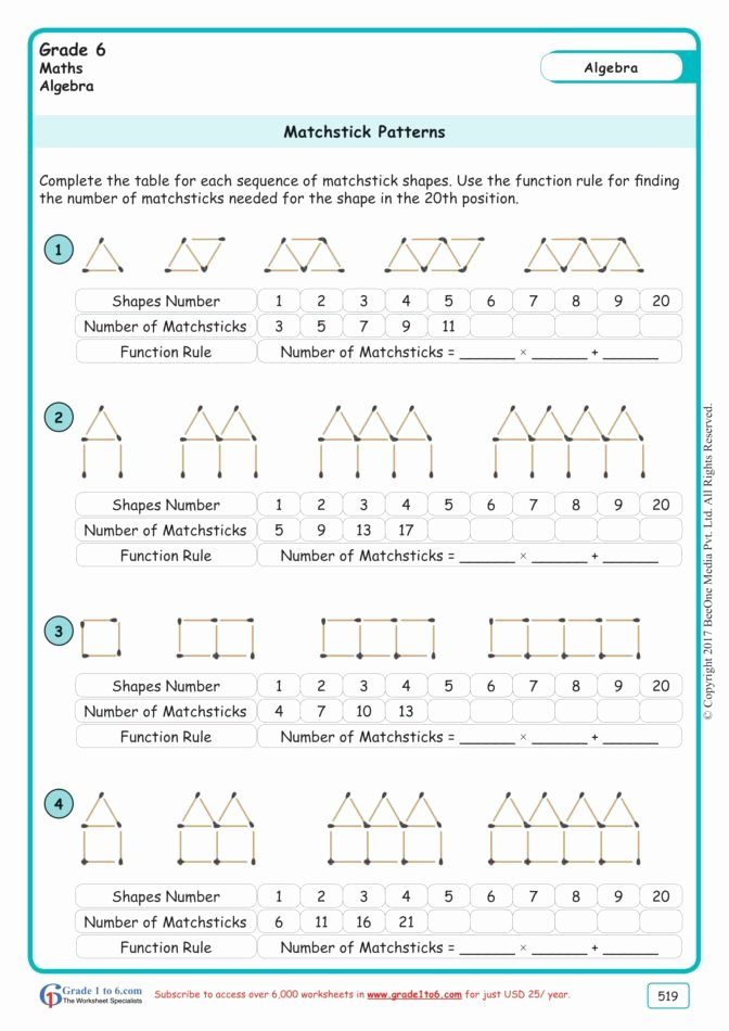 Patterns In Multiplication Worksheets Best Of Math Worksheet Multiplication Worksheet for Grade Cbse