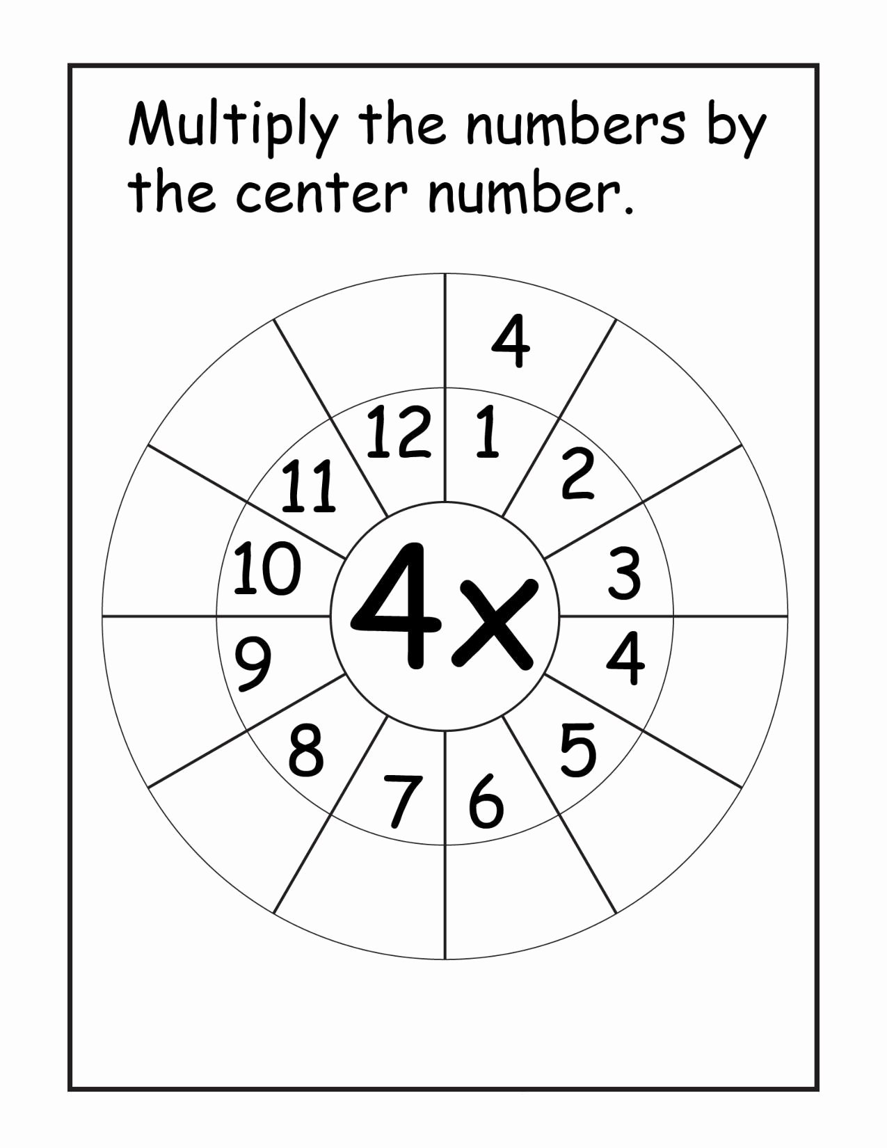 Printables Multiplication Worksheets Lovely Worksheets Multiplication Worksheets Times Tables Speed