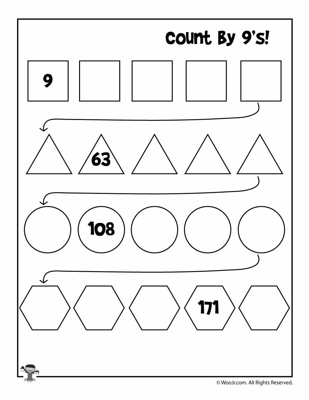 Skip Counting Multiplication Worksheets Fresh Simple Skip Counting Worksheets to Print