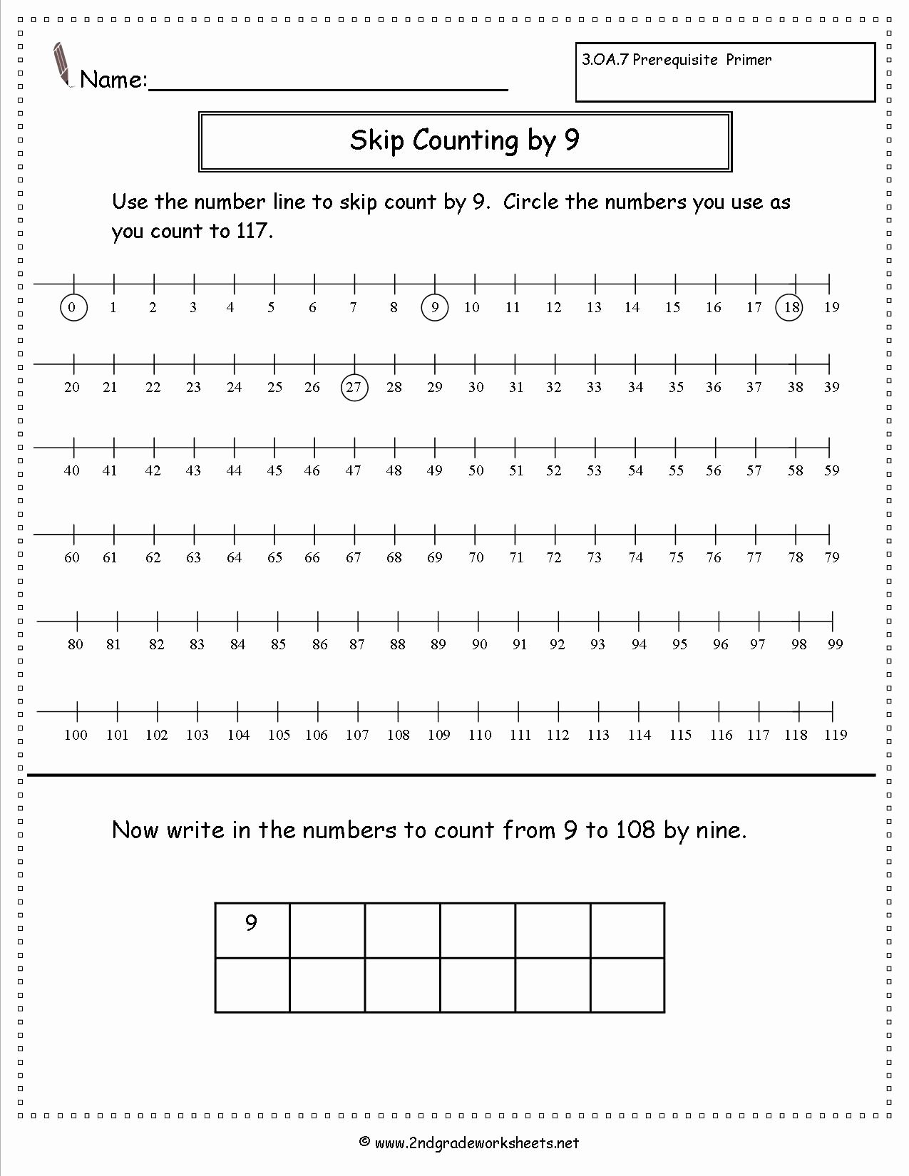 Skip Counting Multiplication Worksheets Lovely Free Skip Counting Worksheets Multiple Styles All Single