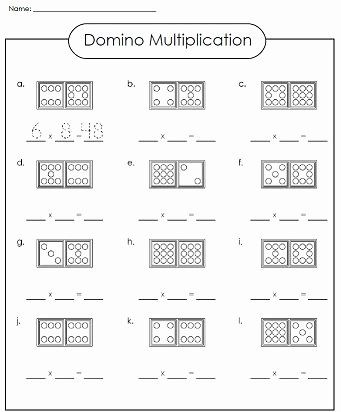 Teach Multiplication Worksheets New Check Out Our Domino Multiplication Worksheet