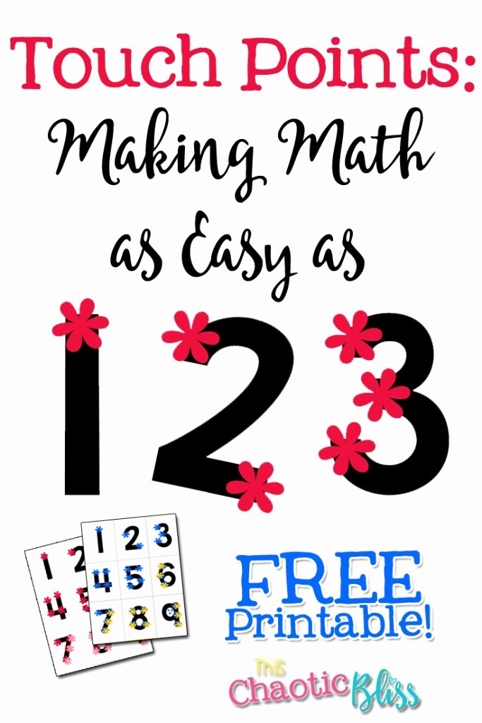 Touch Math Multiplication Worksheets Best Of touch Points Making Math as Easy as 1 2 3 Free Printable