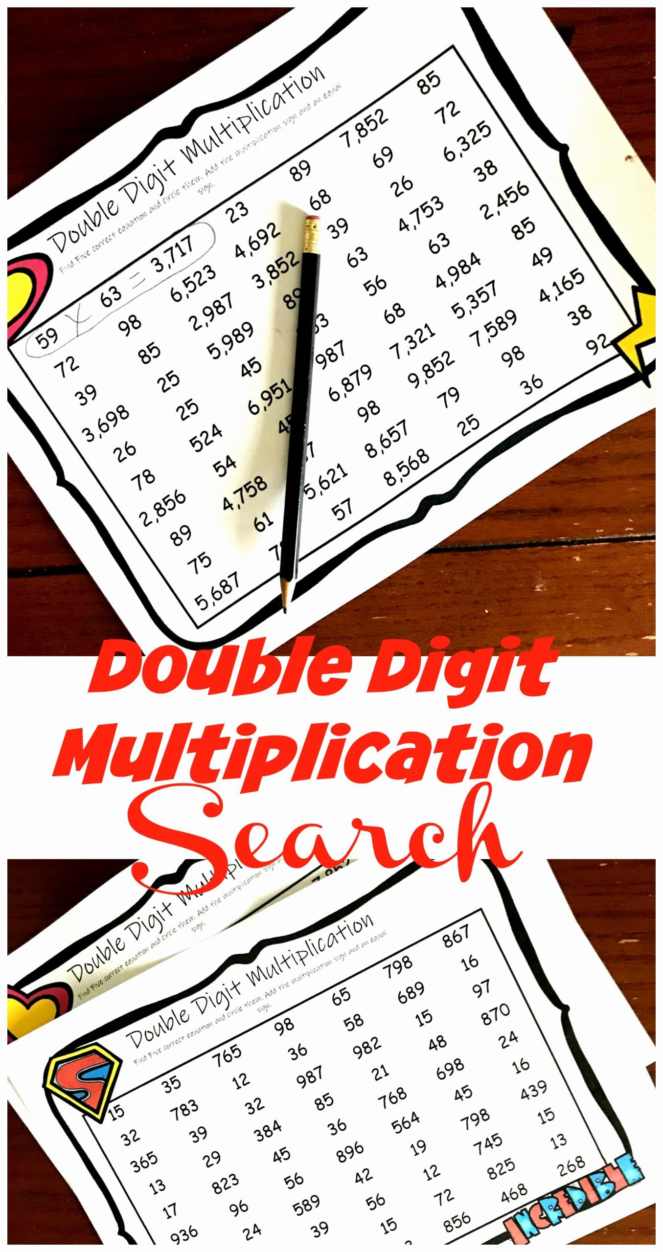 Two Digit Multiplication Worksheets Inspirational Free Two Digit Multiplication Worksheets with A Fun Twist