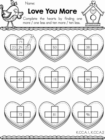 Valentine Multiplication Worksheets Awesome Valentine Math Activities Kindergarten Worksheets Worksheet