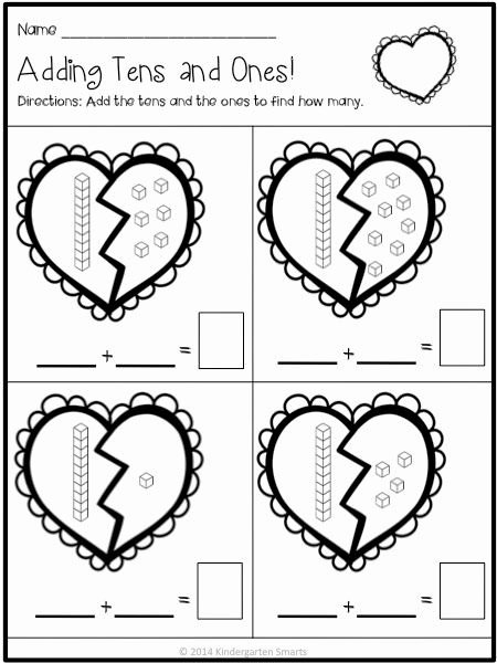 Valentine Multiplication Worksheets Fresh Valentine Math and Literacy Centers with Printable