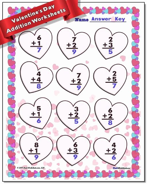 Valentine Multiplication Worksheets top Valentine S Day Worksheets to Make Math Fun