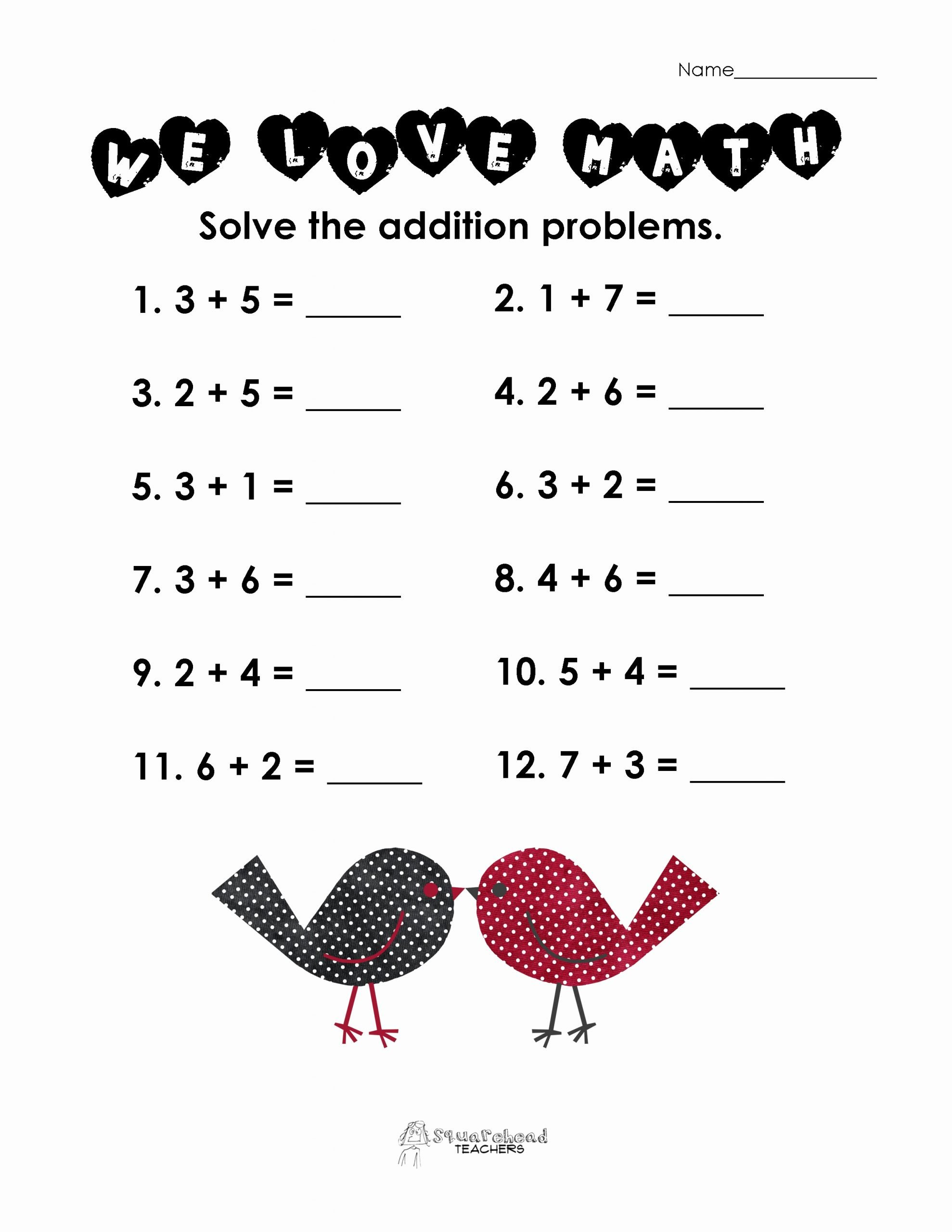 Valentine's Day Multiplication Worksheets Best Of Valentine Worksheets for Second Graders Valentines Day Math