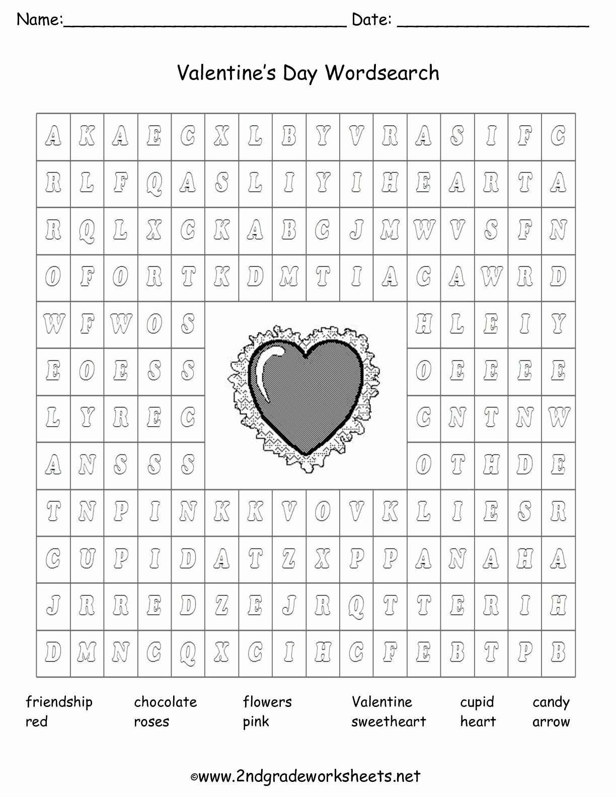 Valentine's Day Multiplication Worksheets New Valentine Printouts and Worksheets Fun Math
