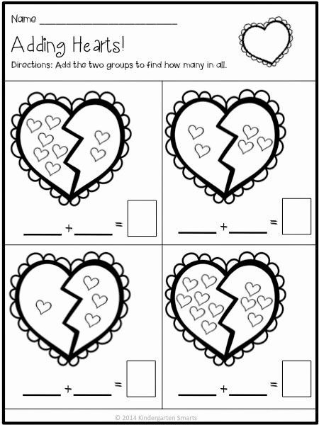 Valentine's Day Multiplication Worksheets Unique Valentine Math and Literacy Centers with Printable