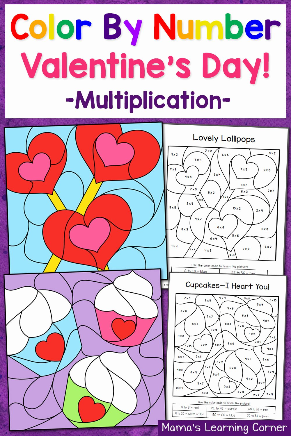 Valentines Day Multiplication Worksheets Fresh Valentine S Day Color by Number Multiplication Worksheets